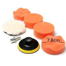 "6Pcs Alto Bruto 75mm 3 "" Kit Pulir Almohadilla para Amortiguador de Coche Buffer"