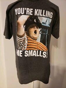 1e5cd33d4d70 Sandlot Your Killing Me Smalls! Gray Graphic T-Shirt Men's Size M | eBay
