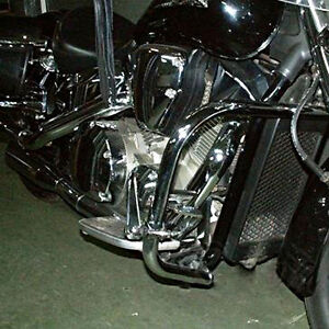 HONDA-VTX-1300-RETRO-CUSTOM-HEAVY-DUTY-CHROME-ENGINE-GUARD-HIGHWAY-CRASH-BAR