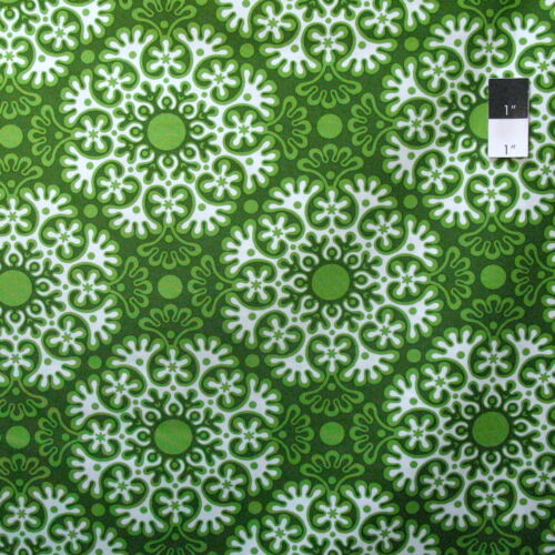 Jane Sassaman Spring Fever PWJS101 Lace Indigo Cotton Fabric By Yard