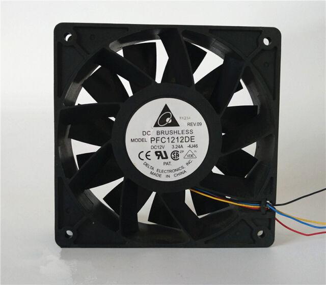1PC Delta FFC1212DE 12CM 12V 2.4A overclocking violence cooling fan