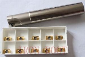 1P-300R-17-160L-C16-2T-Indexable-End-milling-Holder-10PCS-APMT1135PDER-insert
