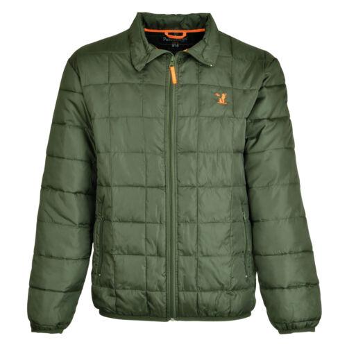 Idaho Hunting Warm Jacket Olive Winter Quilted Padded Hiking Walking Coat New