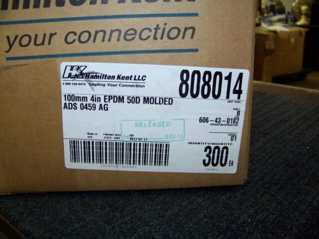 EPDM 50D Molded ADS 0659 AG 400 ea 808016 New Hamilton Kent Seals 150mm 6 in