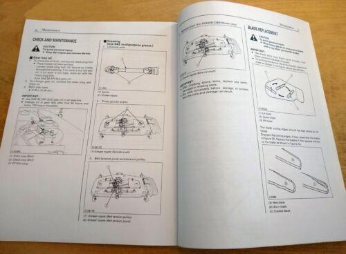 Heavy Equipment, Parts & Attachments Kubota RCK54-22BX RCK60B-22BX ...