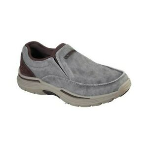 Skechers-Men-039-s-Relaxed-Fit-Expended-Relfen-Moc-Slip-On