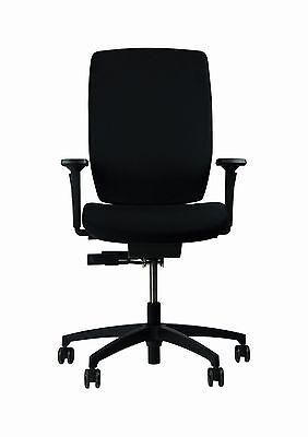 Suche Nach FlüGen Dauphin Shape Elan Stoff Veneto Schwarz Drehstuhl Bürostuhl Drehstühle & -sessel Sitzmöbel