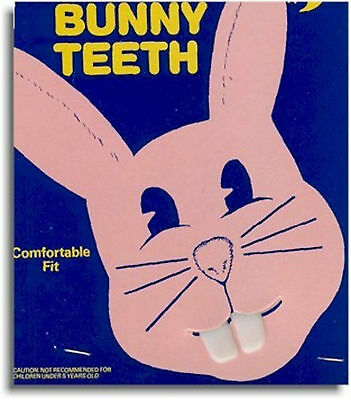 Fake Bugs Bunny Rabbit Buck False Teeth FREE SHIPPING