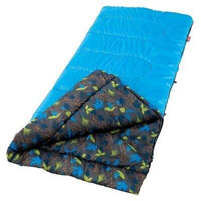 "Coleman Sleeping Bag 50 Youth Boy - Blue (60""x26"")"