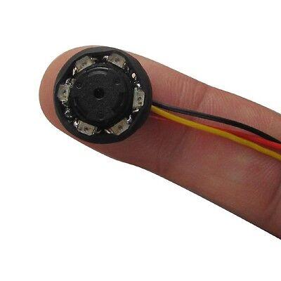 520TVL 0.000Lux night vision HD Mini SPY CCTV IR Camera (6 IR lamps) with Audio