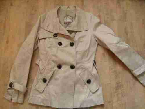 38 Gr Belle Beige Trench Zc117 Top Trench Court Noir oliver S F0qw88
