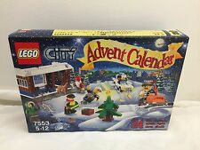 LEGO 7553 - City Advent Calendar / Complete From 2011 - Rare