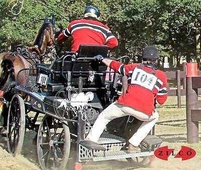 Zilco Concorrente Numero Canotta Titolare Il Trasporto Di Guida O Equitazione-mostra Il Titolo Originale