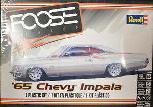 Revell-039-65-Chevy-Impala-Foose-Design-1-25-Scale-Model-Factory-Sealed-M0072