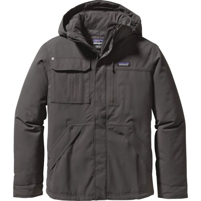 3422574eb2d71a Patagonia Mens Wanaka 600 Fill Duck Down Hooded Jacket Forge Grey Sz XXL   399