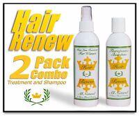 Hair Renew 2 Combo Natural Hair Loss Regrowth Treatment Shampoo Female Woman