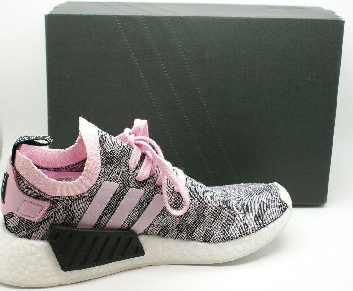 Adidas Originals Womens NMD R2 PK W Primeknit Knit Sneakers Shoes BY9521 7.5 NIB
