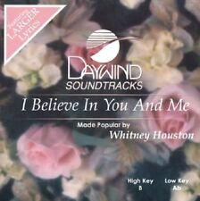 Whitney Houston - I Believe In You and Me -  Accompaniment CD NEW