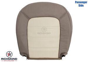 2002 ford explorer eddie bauer passenger side bottom leather seat cover tan ebay. Black Bedroom Furniture Sets. Home Design Ideas