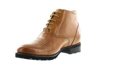 TOTO H1104 - - - 2.8 Inches Height Increasing Elevator Cap Toe Stivali Brogue Accent 2b25b6
