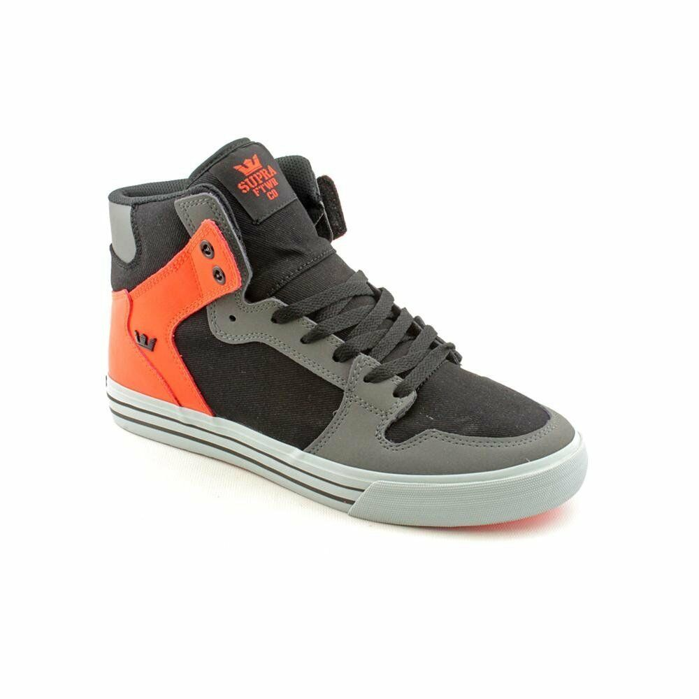 S28154 -  Men's Supra Vaider Charcoal/Black/Orange New In Box