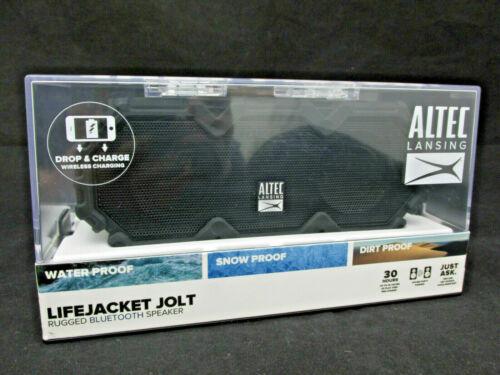 Altec Lansing Lifejacket Jolt Rugged Bluetooth Speaker IMW580-GG Gray Edges