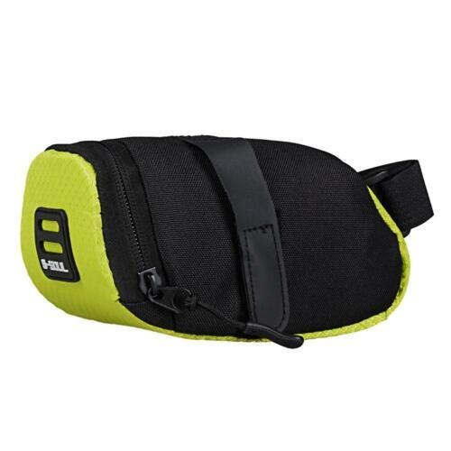 Reflective Bike Bicycle Saddle Bag Cycling Pouch MTB Tail Rear Seat Pannier Bag