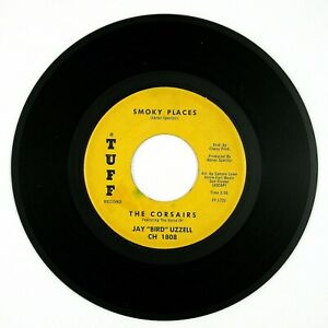 CORSAIRS-Feat-JAZY-BIRD-UZZELL-Smoky-Places-Thinkin-039-7IN-1961-DOO-WOP-NM