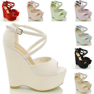 WOMENS-STRAPPY-PLATFORM-WEDGE-LADIES-PEEP-TOE-HIGH-HEEL-SANDALS-SHOES-SIZE-3-8