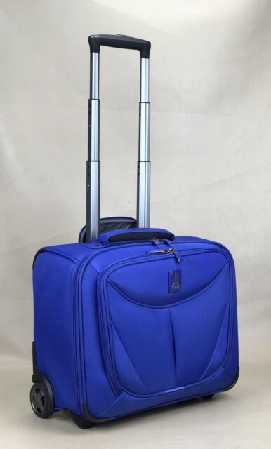 """TRAVELPRO WALKABOUT 3 15.5"""" ROLLING CARRY ON 2 WHEELED TOTE ROYAL BLUE"""