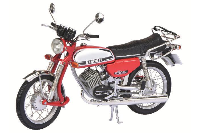 Hercules K 50 RL rosso/cromo Schuco 1:10 450664900