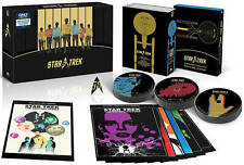New STAR TREK 50th Anniversary BEST BUY Exclusive TV + Movie Collection Blu-ray