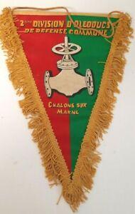 Fanion de la 2e Division d'Oléoducs de défense commune Chalons sur Marne