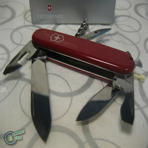 Victorinox Tourist Red Swiss Army Knife Vic 0 3603 Ebay
