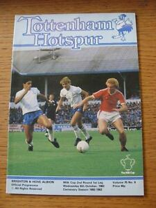 06-10-1982-Tottenham-Hotspur-v-Brighton-And-Hove-Albion-Football-League-Cup-N