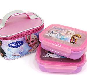 frozen bento elsa bags stainless steel boxes for kids lunch box set school da. Black Bedroom Furniture Sets. Home Design Ideas
