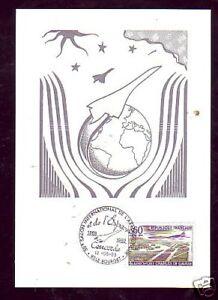 1363-CARTE-POSTALE-CONCORDE-SALON-AERONAUTIQUE-1989