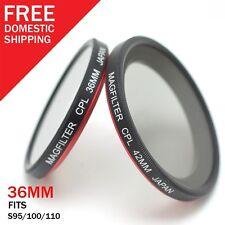 36mm CPL MagFilter Photography&Cinema Circular Polarizer for Canon S95 S100 S110