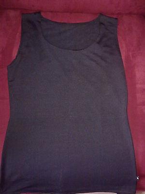 Brillante Maglietta Intimo Donna - Women Underwear - New - Black Una Grande Varietà Di Merci