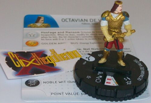 OCTAVIAN DE VALOIS 006 #6 Assassin's Creed Brotherhood HeroClix