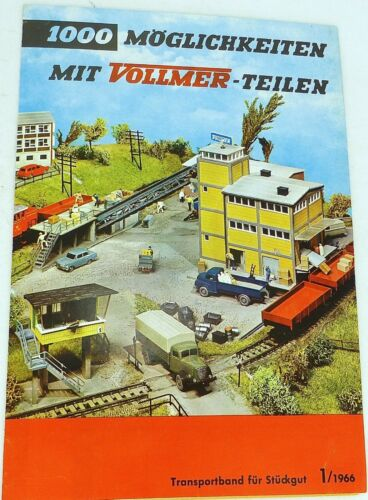Transportband für Stückgut Vollmer 1000 Möglichkeiten mit Teilen 1//1966 å *