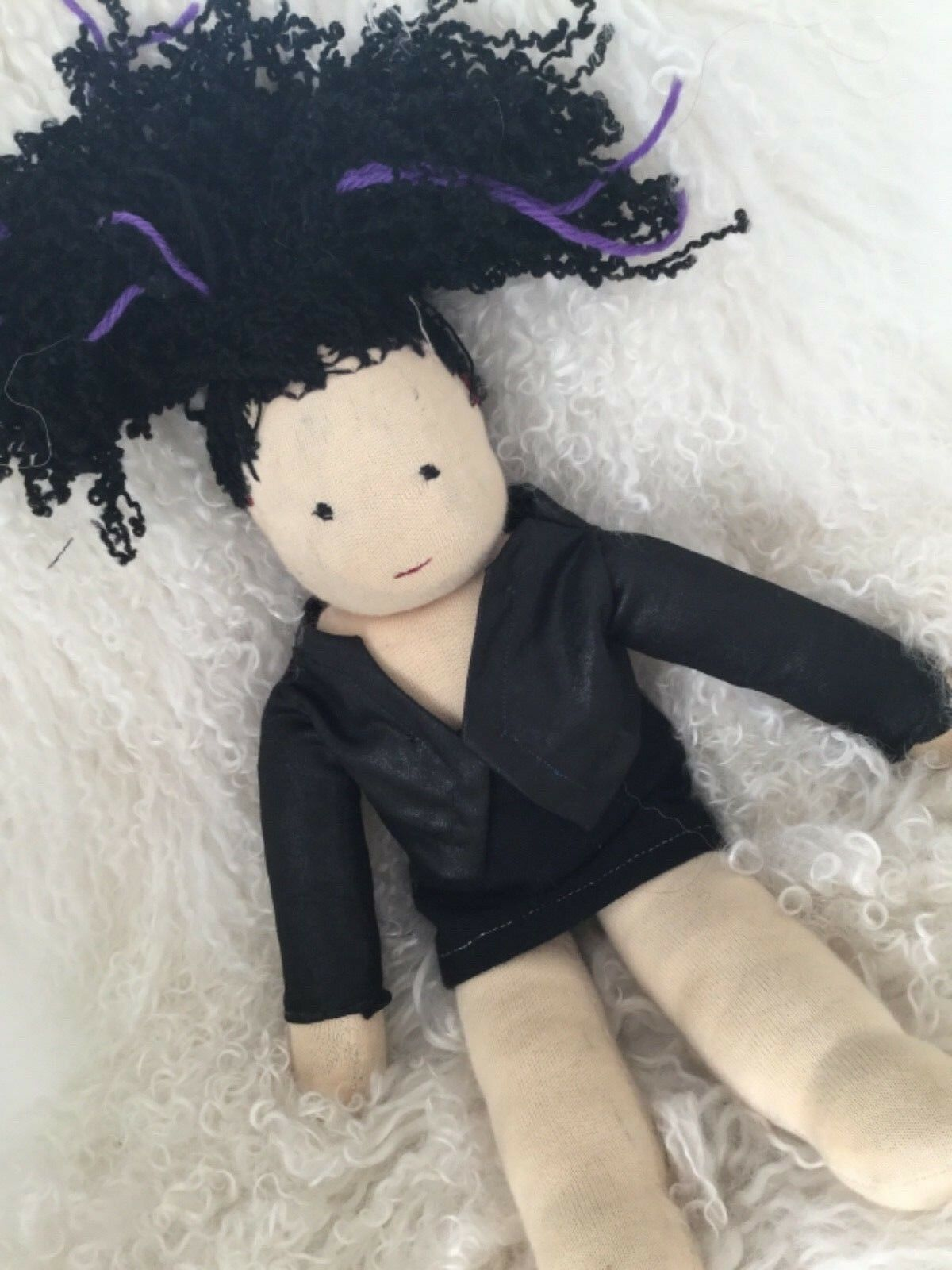 Puppe Waldorf Art, Stoffpuppe  ️ Waldorfpuppe Popstar  Handmade  ca 43  cm