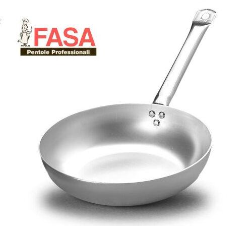 Padella alta 1 Manico professionale della FASA diametro 45cm in alluminio puro