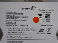 Seagate ST3640623AS / 9FZ164-188 / SD43 / TK - 640 GB Hard Drive