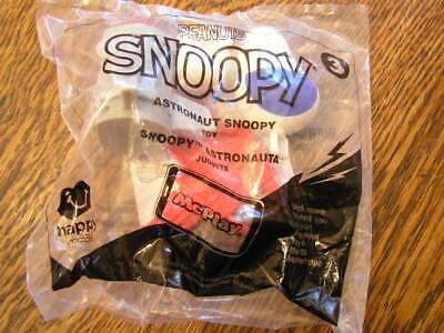 MCDONALDS HAPPY MEAL TOY 2018 #3 ASTRONAUT SNOOPY PEANUTS BEAGLE SPACE NEW NIP