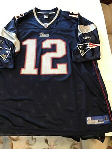 Details about NFL New England Patriots Brady Jersey Size 5XL great condition
