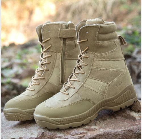 Botas Botines Senderismo de Army táctica Patrulla combate hombre para Nuevo Desert altas rqwt8r