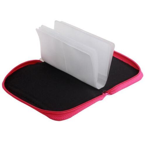 Caja de almacenamiento de tarjeta para bolsa de memoria Micro SD Tarjeta Sd Estuche tipo Billetera Petaca Nuevo Bolso Fi