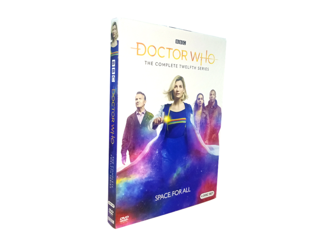 Doctor Who Season 12 (DVD, 2020, 4-Disc Set) Brand New Fast shipping