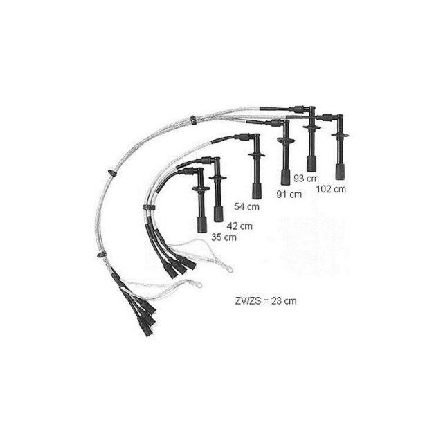 BERU ze746 0300890188 Set ACCENSIONE PORSCHE 911 3.0 SC//Carrera 3.3//SC Turbo